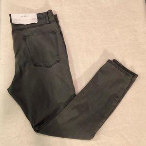 Frame Denim Grey Le High Skinny Jeans NWT Size 34